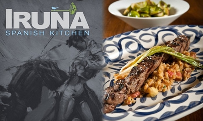Iruna - Downtown Scottsdale: $20 for $40 of Tapas and Drinks at Iruna