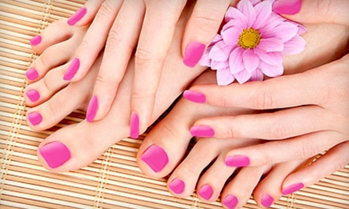 Stellar Spa Services - Knightdale: $39 for a Manicure and Pedicure at Stellar Spa Services in Knightdale