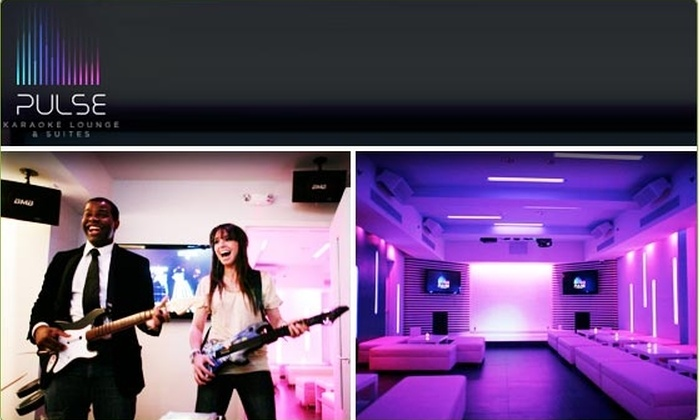 Pulse Karaoke - Theater District - Times Square: $20 for $50 Groupon to Pulse Karaoke