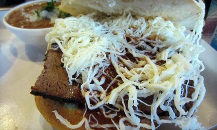Cemitas Puebla - Chicago: $5 Worth of Chalupas, Quesadillas & Tacos