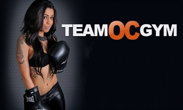 Team OC Gym - Orange: $25 for Six Kickboxing Classes at Team OC Gym ($60 Value)
