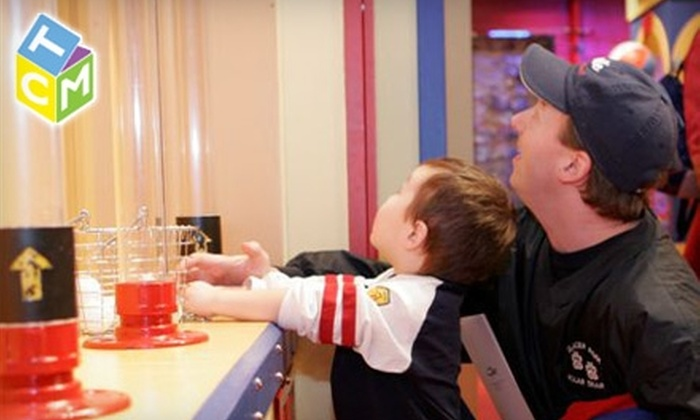 The Children's Museum, Seattle - Lower Queen Anne: $15 for a Family Four-Pack of Tickets to The Children's Museum, Seattle ($30 Value)