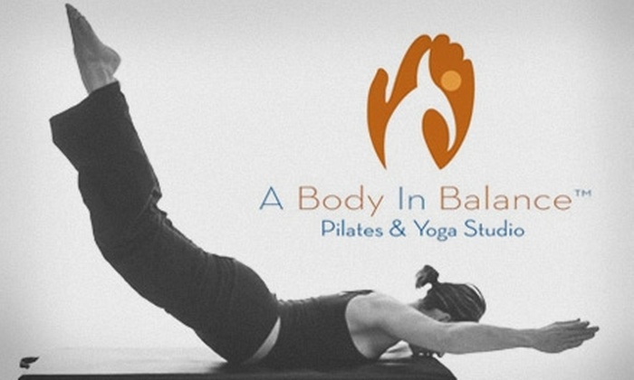 A Body in Balance Pilates and Yoga Studio  - Peccole Ranch: $29 for Four Pilates Mat or Group Reformer Classes at A Body in Balance Pilates and Yoga Studio