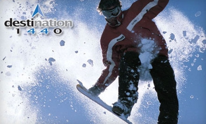 Destination 1440 - Northwest Berkeley: $25 for $50 Worth of Snowboarding and Skateboarding Apparel, Gear, and Services at Destination 1440 in Berkeley