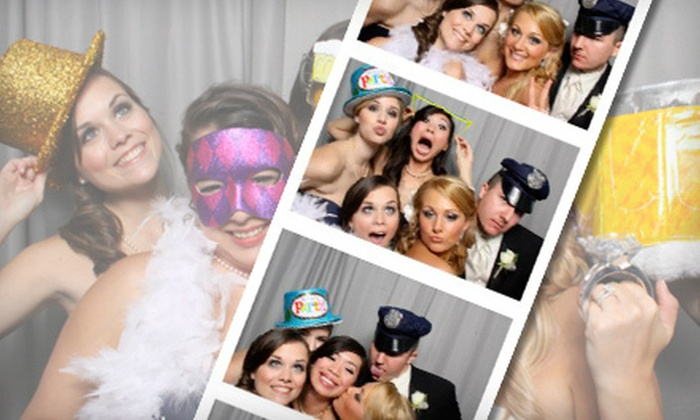 Mobile Memories Photo Booth - Multiple Locations: $269 for a Three-Hour Photo-Booth-Rental Package from Mobile Memories Photo Booth ($545 Value)