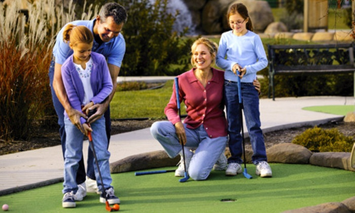 Cascade Golf Center - Orchard North: $9 for Miniature Golf Outing for Up to Six People at Cascade Golf Center in Orem (Up to $20 Value)