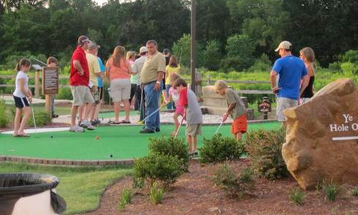 Mac N Bones Miniature Golf & Grill and The Zone - Flowood: Mini-Golf Outing for Two or Four at Mac N Bones Miniature Golf & Grill and The Zone in Pearl