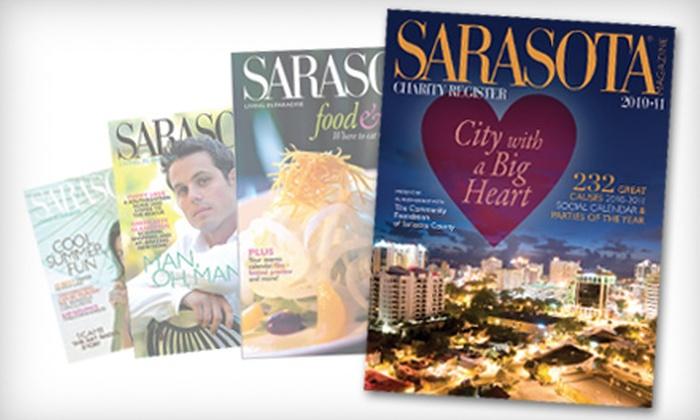 """Sarasota Magazine"" - Sarasota: One- or Two-Year Subscription to ""Sarasota Magazine"""