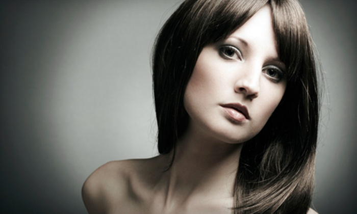 Brad's Salon - Garriage Hills: Hair Services at Brad's Salon in Greensboro (Up to 60% Off). Three Options Available.