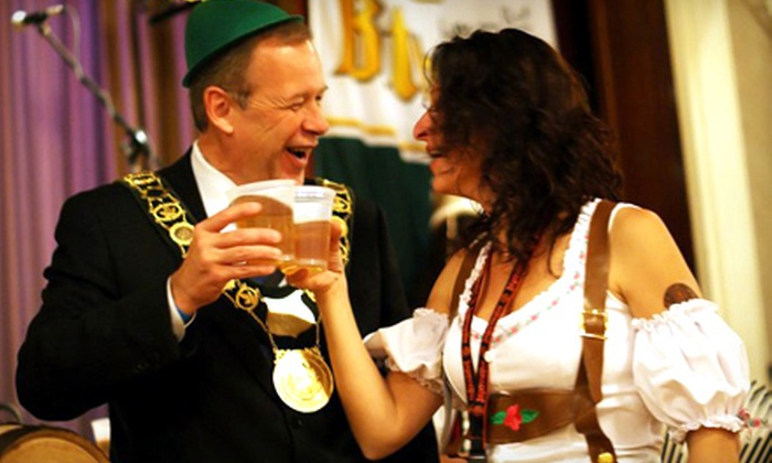 Oktoberfest Niagara - Merritton: $30 for German Festival Evening with Drink Tickets for Two at Oktoberfest Niagara on Saturday, October 22 (Up to $60 Value)