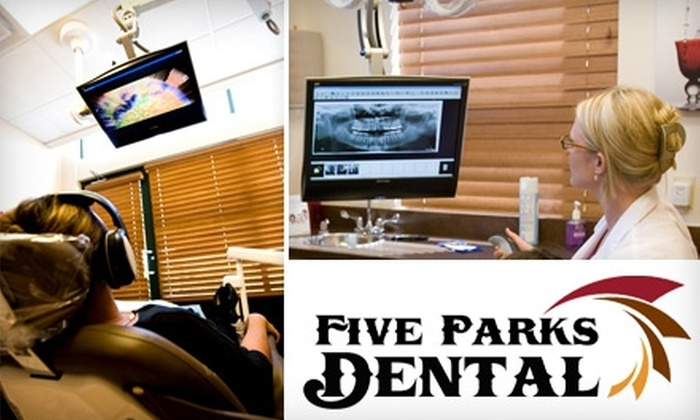 Five Parks Dental - Village Of Five Parks: $49 for a Complete Exam, X-rays, and Cleaning at Five Parks Dental ($334 Value)
