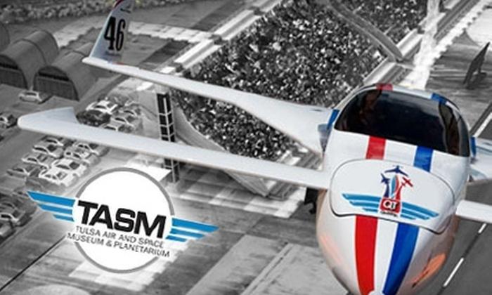 QuikTrip Air and Rocket Racing Show  - Tulsa: $6 for One Ticket to the QuikTrip Air and Rocket Racing Show