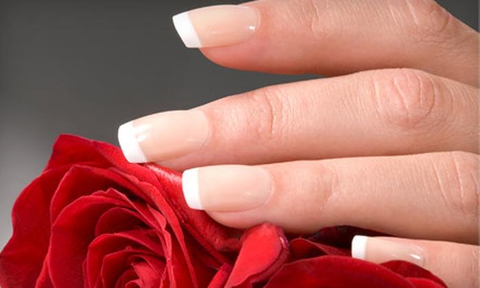 Prizms Salon & Day Spa - Lower Nazareth: Shellac Manicure or Spa or Standard Mani-Pedi at Prizms Salon & Day Spa in Bethlehem (Up to 53% Off)