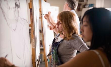 Ann Bridges Art Studio: 1 Pass to 1 Group Studio Art Introduction Class  - Ann Bridges Art Studio in Los Angeles