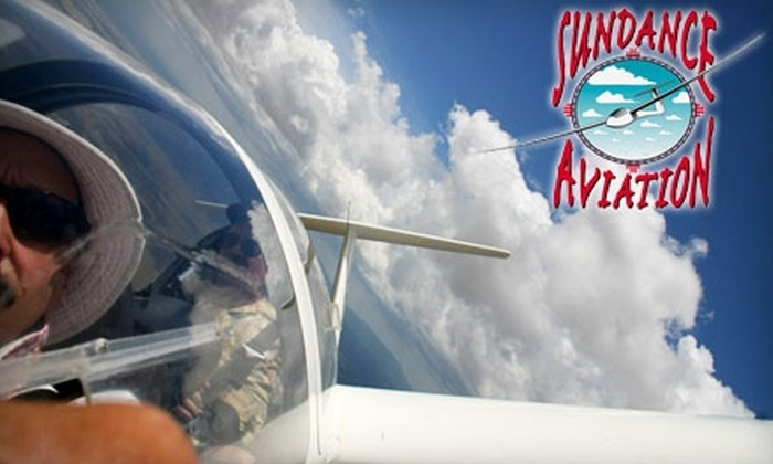 Sundance Aviation - Moriarty: $97 for a 45-Minute Glider Ride at Sundance Aviation in Moriarty ($162 value)