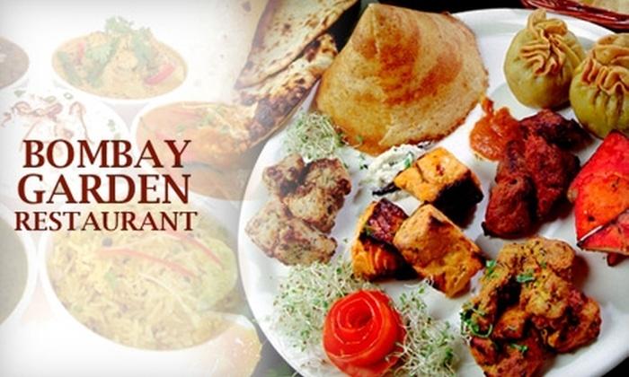 Bombay Garden Restaurant - Fairfax: $12 for $25 Worth of Indian Cuisine at Bombay Garden Restaurant in Fairfax