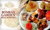 Eternal Flavors - CLOSED - Fairfax: $12 for $25 Worth of Indian Cuisine at Bombay Garden Restaurant in Fairfax