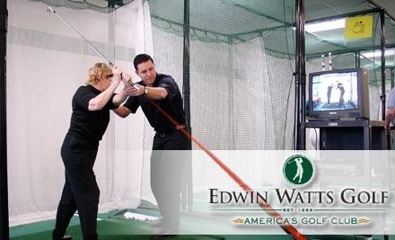 Edwin Watts Golf Academy - Edwin Watts Golf Academy in Birmingham