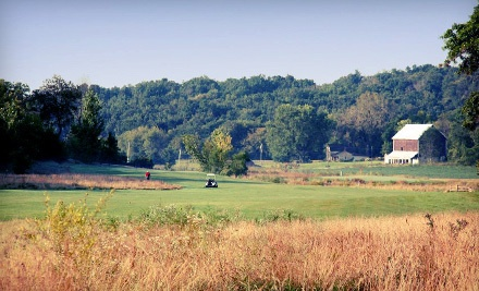 9-Hole Round of Golf for Two, Cart Rental, and Two Medium Buckets of Range Balls - Argue-Ment Golf Course in New Glarus