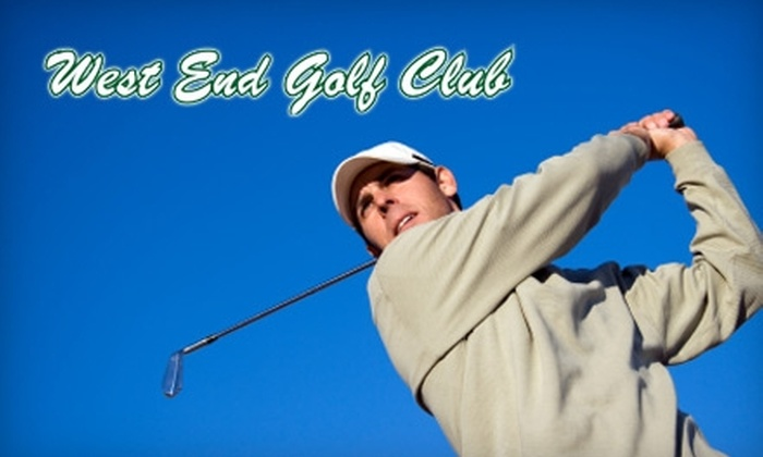 West End Golf Club - Gainesville: $12 for 18 Holes of Golf and Cart Rental at West End Golf Club in Newberry (Up to $25 Value)