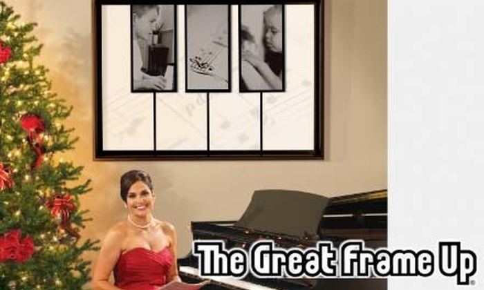 The Great Frame Up: $45 for $100 Worth of Custom Framing at The Great Frame Up