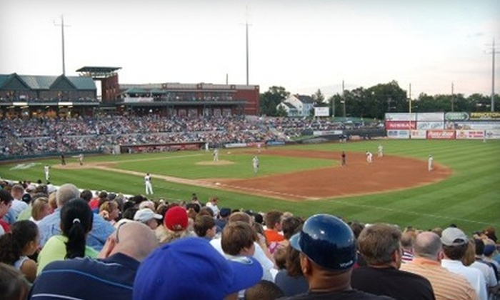 Somerset Patriots - North Jersey: $20 for Outing for Four to a Somerset Patriots Baseball Game at TD Bank Ballpark ($44 Value)