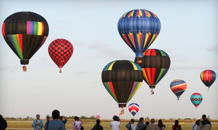 Gone With The Wind Balloon Co. - Joel: $112 for Hot Air Balloon Adventure for One with Champagne and Breakfast from Gone With the Wind Balloon Co. ($225 Value)