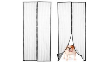 Magnetic Heavy-Duty Mesh Screen Door