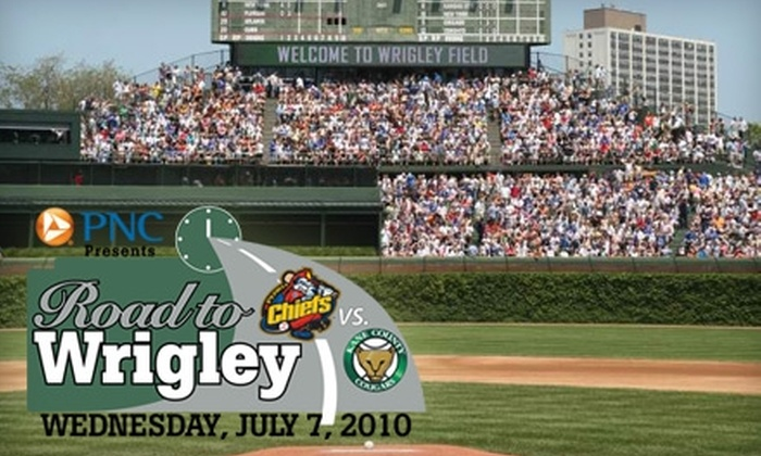 "Chicago Cubs - Lakeview: Tickets to the ""Road to Wrigley"" Minor League Game on Wednesday, July 7, at 7:05 p.m. Choose from 17 Seating Options."