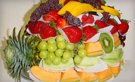 1 Manor Deluxe Platter or Chocolate Sampler With Free Delivery Within 25 Miles (up to a $60 value) - Manor Fruit Shack in stewart manor
