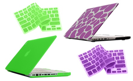 Bunta Frosted Macbook Hard-Case Shell with a Silicone Keyboard Cover