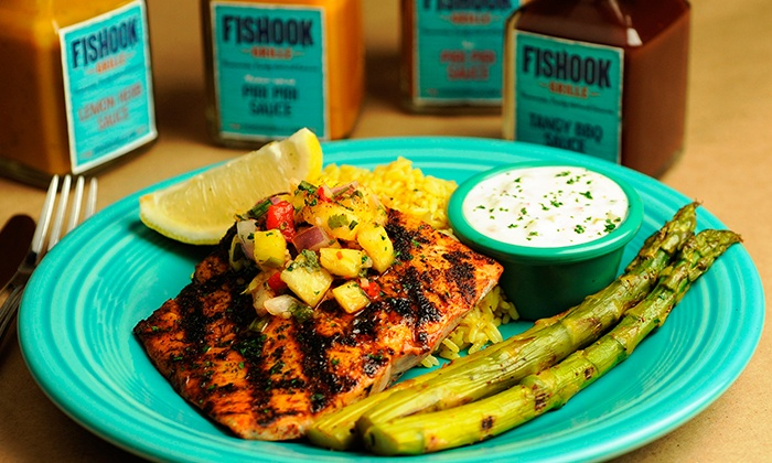 Fishook Grille - Roswell - Roswell: South African–Inspired Food for Dinner or Lunch at Fishook Grille (Up to 33%Off)