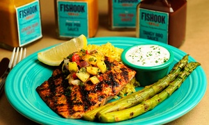 Fishook Grille - Roswell: South African–Inspired Food for Dinner or Lunch at Fishook Grille (Up to 33%Off)