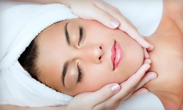 Club Beauty - Multiple Locations: Lip Wax, Eyebrow Wax, Both, or One-Hour Relaxation Facial at Club Beauty (Up to 53% Off)