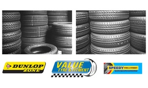 The Value Tyre & Fitment Group: Dunlop and Sumitomo Tyres from R358 Per Tyre at Value Tyre & Fitment