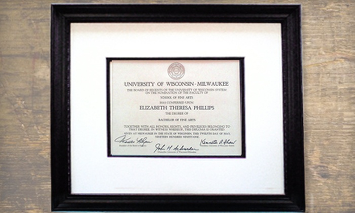 Portland Picture Frame - Portland: $59 for Diploma Framing at Portland Picture Frame ($200 Value)