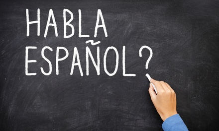 Four- or Eight-Week Spanish Course at The Language School (Up to 61% Off)