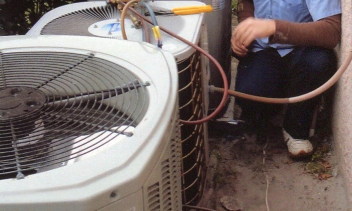 Bayside Heating & Air Conditioning - Tampa Bay Area: HVAC Duct Disinfecting and Deodorizing with a 64 Point Inspection Bayside Heating & Air Conditioning (63% Off)