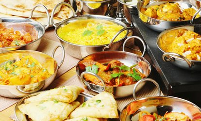 image for Two-Course Indian Meal for Two or Four at Tiffins & Thalis (Up to 63% Off)