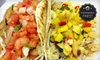 Monon Food Company - Indianapolis: Gourmet Tacos and Soft Drinks for Two or Four at Monon Food Company (Up to 59% Off)