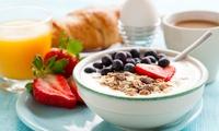 Gezond ontbijt met glas cava reserva  voor 2 personen in Waasland Shopping Center