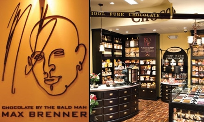 Max Brenner, Chocolate by the Bald Man - Rittenhouse Square: $15 for $30 Worth of Chocolate Gifts and More at Max Brenner, Chocolate by the Bald Man