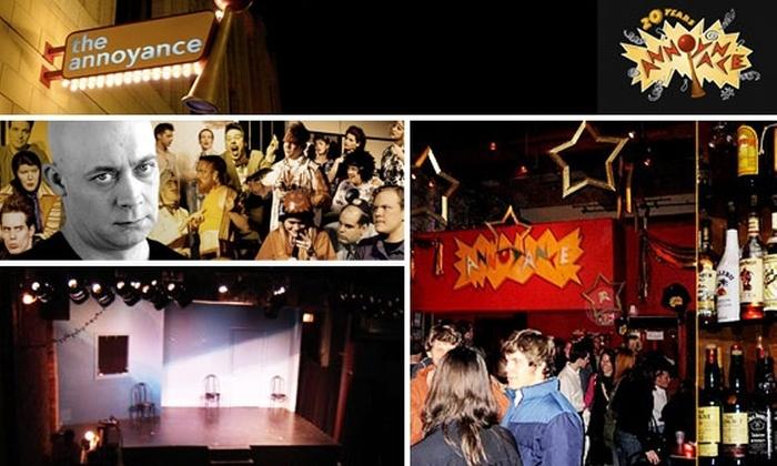 Annoyance Theatre - Uptown: 4 Tickets to Annoyance Theatre & Half-Off Drinks for $15