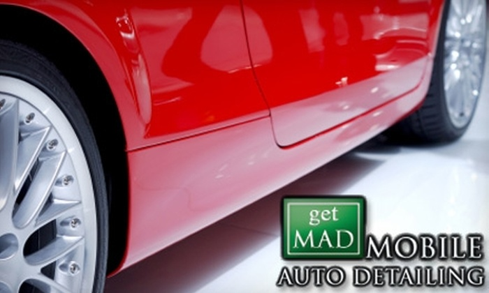 Get M.A.D. Mobile Auto Detailing - Marietta: Car Detailing Services from Get M.A.D. Mobile Auto Detailing. Choose Between Two Options.