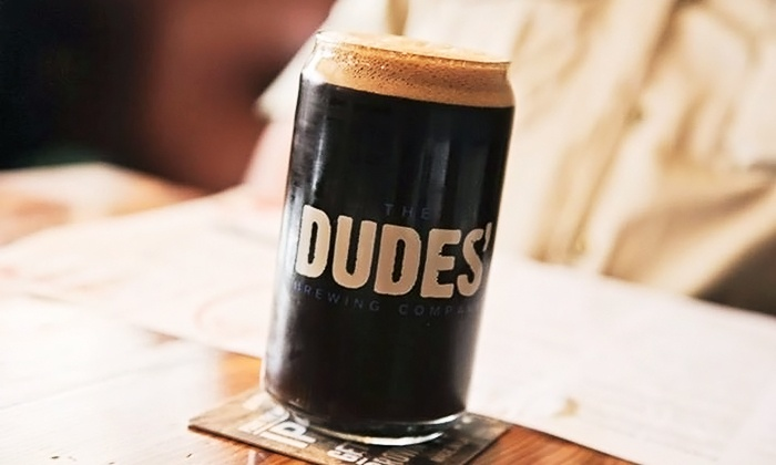 The Dudes' Brewing Company - Torrance: Beer Tasting for Two, Four, or Six at The Dudes' Brewing Company (44% Off)