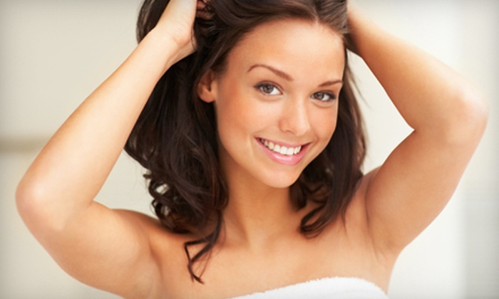 Laser Plus Spa - Multiple Locations: Laser Hair-Removal Packages for Small, Medium, or Large Areas at Laser Plus Spa