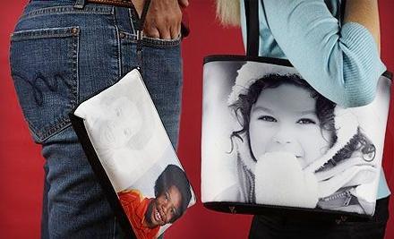SnapTotes.com: Custom-Photo Clutch - SnapTotes.com in