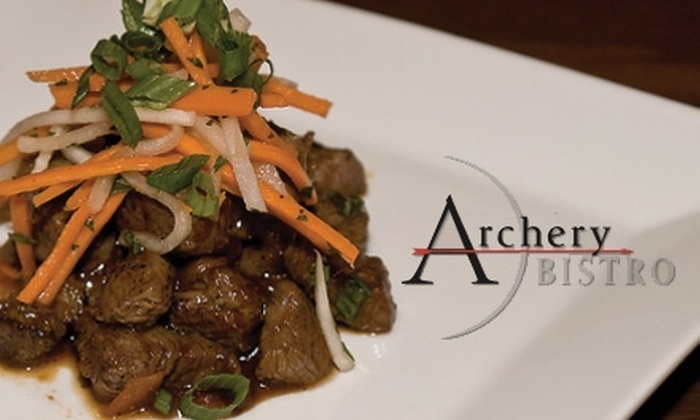 Archery Bistro - Normandy Park: $12 for $25 Worth of Northwestern Cuisine and Drinks at Archery Bistro