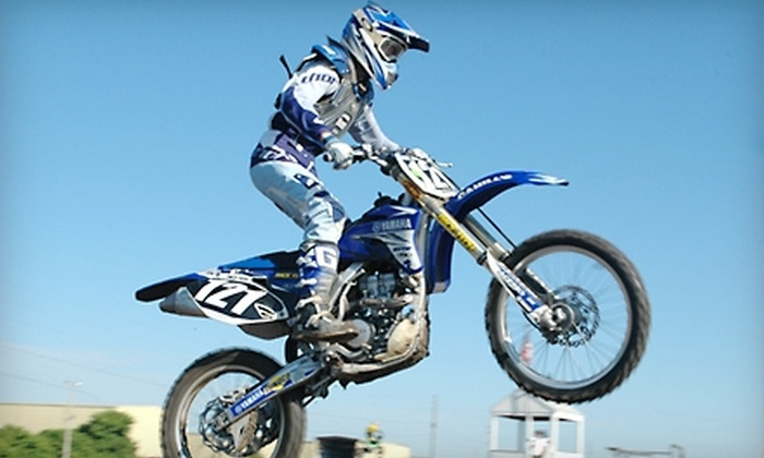 Sunshine Motocross - Pinellas Park: $20 for Admission for Four to Sunshine Motocross in Clearwater (Up to $40 Value)