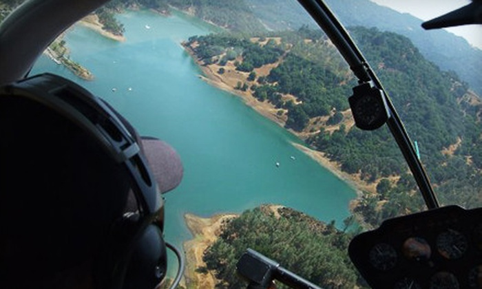 Sonoma Helicopter - Santa Rosa: $135 for a 30-Minute Helicopter-Piloting Experience with Ground and Flight Instruction and a T-shirt from Sonoma Helicopter in Santa Rosa ($270 Value)